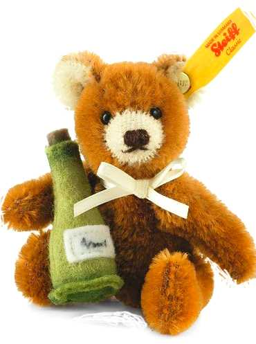 TEDDY W CHAMPAGNE BOTTLE by SALES